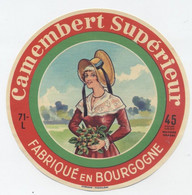 Etiquette Camembert, Saint Jean Des Vignes - Cheese