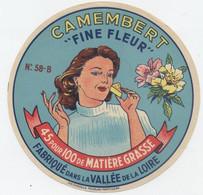 Etiquette Camembert, Cosne Cours Sur Loire - Cheese