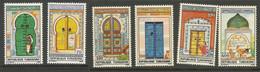 Tunisie 146 - 1988 N°1119 à 1124 - Tunisia