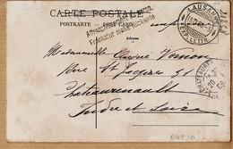 Sui171 Frankatur Siehe Rückseite LAUSANNE 1908 VERNON Rue St Jacques Chateaurenault-PHOTOTYPIE Co Neuchâtel N°1478 - VD Vaud