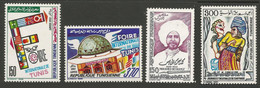 Tunisie 150 - 1989 N°1133 à 1136 - Tunisia