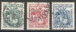 Tunisie 153 - 1957 Taxe  N°68/71/73 - Tunisia