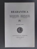 Brabantica Tome IV Deuxième Partie - Belgio
