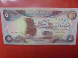 IRAQ 5 DINARS Peu Circuler/Neuf (B.23) - Irak