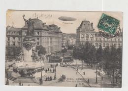 PARIS - PLACE DE LA REPUBLIQUE  (DIRIGEABLE) - Otros