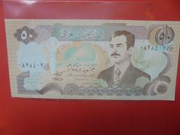 IRAQ 50 DINARS Peu Circuler/Neuf (B.23) - Irak