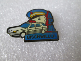 PIN'S   POLICE   A P M    BISCHWILLER - Polizia