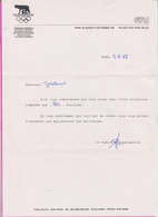 262819 / Italy , Roma Rome 1987 OLYMPHILEX ' 87 , World Olympic Philatelic Exhibition , Italia Italie Italien - Italy