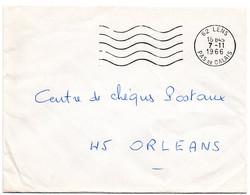 PAS De CALAIS - Dépt N° 62 = LENS 1966 = FLAMME Codée = SECAP Muette '5 Lignes Ondulées' FRANCHISE - Mechanical Postmarks (Advertisement)