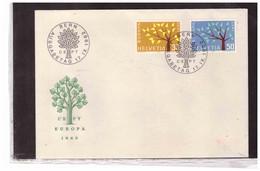 FDC7561  -  BERN  17.9.1962   /      FDC   SVIZZERA    EUROPA CEPT 1962  -  MICHEL Nr.  756/757 - 1962
