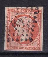 D186 / NAPOLEON N° 16 OBL COTE 22€ - 1853-1860 Napoléon III.