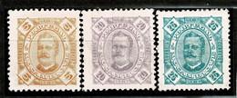 Moçambique, 1893/4, # 29, 32/3, MNG - Mozambique