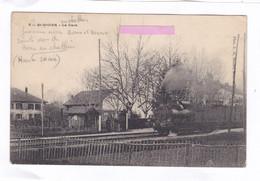 CPA :  14 X 9  -   ST-DIDIER (Hte-Savoie)  - La  Gare - Autres Communes