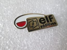 PIN'S    ELF   ADDITIVES - Carburanti