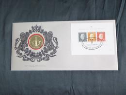BELG.1976 BL50 FDC Numisletter BL50 - 25e Verjaardag Eedaflegging Koning Boudewijn/25e Anniversaire De La Prestation De - Numisletters