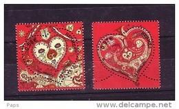 2013-N°4717/4718** SAINT VALENTIN.COEUR HERMES - Unused Stamps