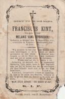 Gistel, Ghistel, Veurne, 1870, Franciscus Kint, Vanspeybrouck, Staat : Zie Scan - Religion & Esotericism