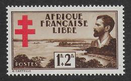 AFRIQUE EQUATORIALE FRANCAISE - AEF - A.E.F. - 1941 - YT 155** - Nuevos