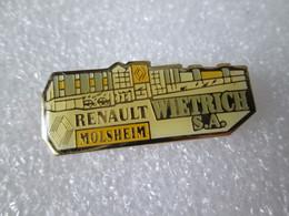 PIN'S       RENAULT    MOLSHEIM   WIETRICH S A - Renault