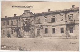 Kobryn Seuchenlazarett Kobrin Kobryń Weißrussland Feldpost 1916 - Bielorussia