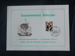 "BELG.1976 1795 FDC Filatelic Card (Charleroi) :  ""Conservatoire Africain"" - 1971-80"