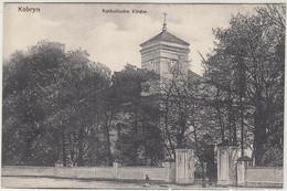 Kobryn Katholische Kirche Kobrin Kobryń Weißrussland Um 1916 - Bielorussia