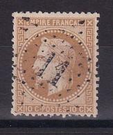 D187 / NAPOLEON N° 28B OBL ETOILE N° 11 COTE 8€ - 1863-1870 Napoleon III Gelauwerd