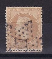 D187 / NAPOLEON N° 28B OBL ETOILE N° 17 COTE 7€ - 1863-1870 Napoleon III Gelauwerd