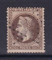 D187 / NAPOLEON N° 30  OBL COTE 25€ - 1863-1870 Napoleon III With Laurels