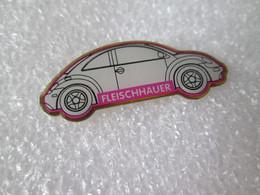 PIN'S    VOLKSWAGEN  COCCINELLE  NEW BEETLE   FLEISCHHAUER - Volkswagen