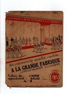 Protège-cahiers A La Grande Fabrique Vêtements De Qualité Lons-Le-Saunier Louhans Avec Tablesauverso- Format : 24x18 - Omslagen Van Boeken