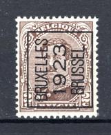 PRE69A-II MNH** 1923 - BRUXELLES 1923 BRUSSEL - Tipo 1922-26 (Alberto I)