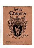 Protège-cahiers Huile Cayora Légère à L'estomac Avec Table De Multiplication Et Carteauverso- Format : 24x18cm - Omslagen Van Boeken