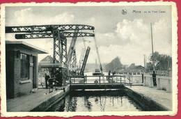 C.P. Mons =  Double Ponts Sur Canal De MONS à  CONDE : 1 Pont Doit Toujours  Laisser Passage Pour Clinique Du Pont Canal - Mons