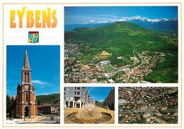 38 - Eybens - Multivues - Blasons - Carte Neuve - CPM - Voir Scans Recto-Verso - Andere Gemeenten