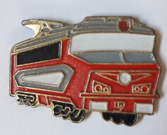 QQ49 Pin's SNCF TGV Train Micheline Rouge Achat Immédiat - TGV