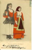 CP Costume Di FONNI Cachet CAGLIARI . - Nuoro