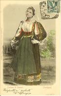 CP Costume Di SENNORI + Cachet CAGLIARI . - Sassari