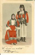 CP Costume Di DESULO + Cachet CAGLIARI . - Nuoro