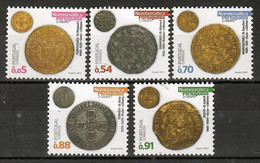 Portugal 2021 , Numismatica Portuguesa - Antike Münzen - Grupo 2 - Postfrisch / MNH / (**) - Unused Stamps