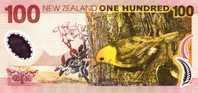 NEW ZEALAND P. 189b 100 D 2008 UNC - New Zealand