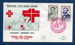 ⭐ France - Premier Jour - FDC - Croix Rouge - 1958 ⭐ - 1950-1959