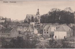 BELGIQUE - BINCHE CPA Panorama-église-maisons - Binche