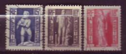 Timbres - Algérie - 1952 - Yvert 288 - 290 - 291 (Oblitérés) - Used Stamps