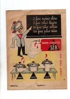 Protège-cahiers Super-cocotte SEB Et Au Verso A Propos De Denis Papin- Format : 24x18cm - Omslagen Van Boeken
