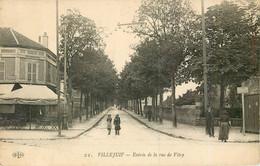 VILLEJUIF Entrée De La Rue De Vitry - Villejuif