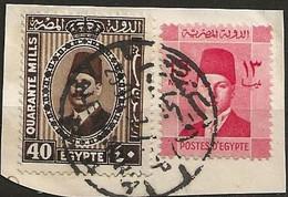 Timbre Egypte Belle Obliteration - Usati