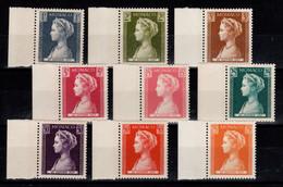 Monaco - YV 478 à 486 N** Complete Naissance De La Princesse Caroline Cote 11,80 Euros - Ongebruikt