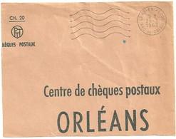 PAS De CALAIS - Dépt N° 62 = LENS ENTREPOT 1962 = FLAMME Non Codée = SECAP Muette '5 Lignes Ondulées' FRANCHISE - Mechanical Postmarks (Advertisement)
