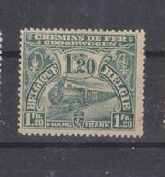 COB 93 * Neuf Avec Charnière Cote 40€ Pli Horizontal - 1915-1921